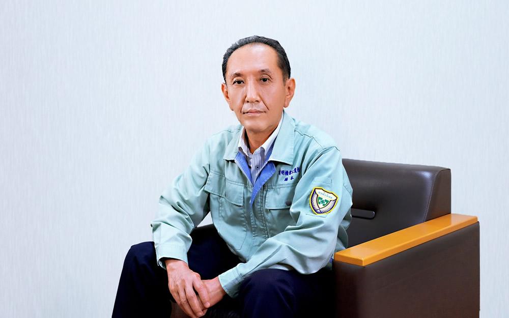 有明機電工業株式会社 社長 橋本浩之